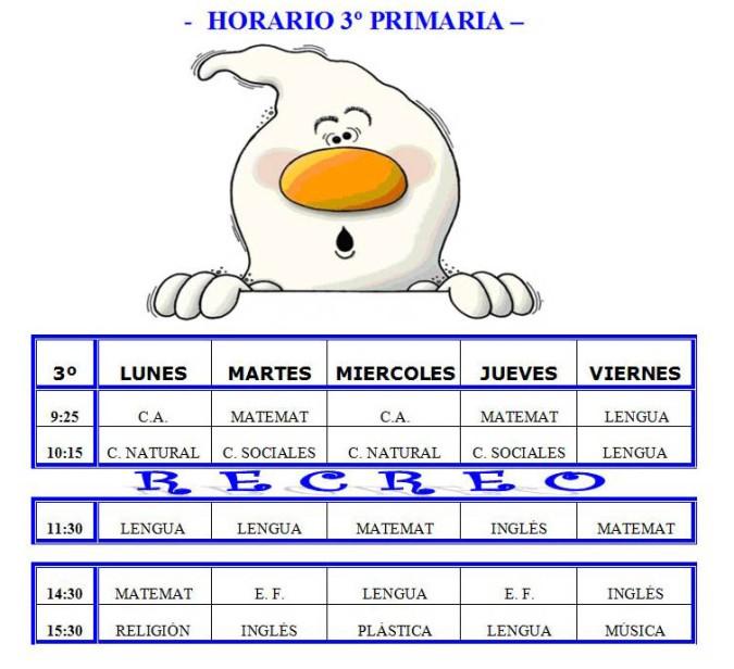 horario-3o-primaria